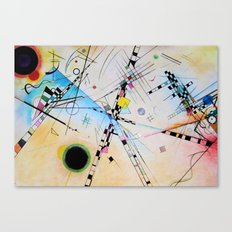 Kandinsky Reimagined Canvas Print