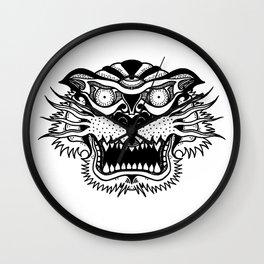 A Tiger. Wall Clock