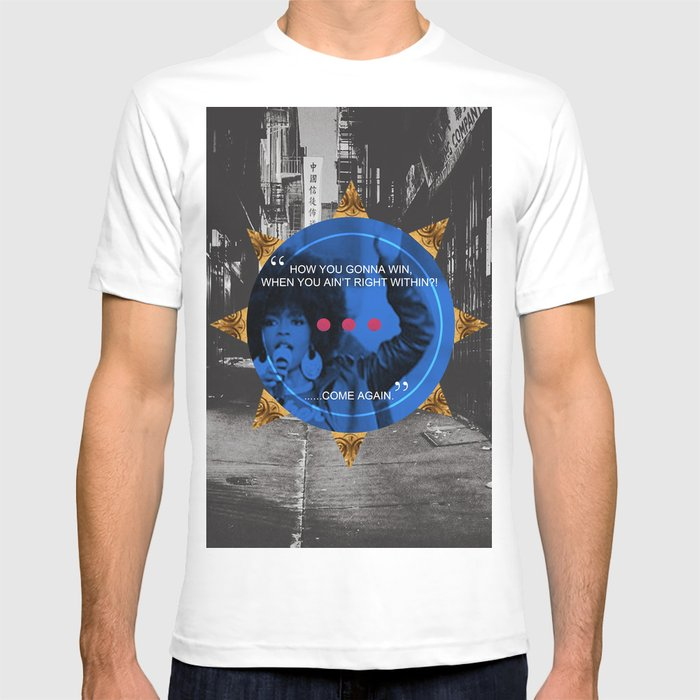 6d36cab7 Lauryn Hill tribute T-shirt by artistofculture | Society6