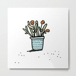Pretty Plant 2 Metal Print