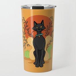 Spooky Kitty Travel Mug