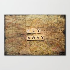 fly away-2 Canvas Print