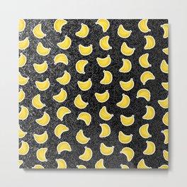 Space Banana Metal Print