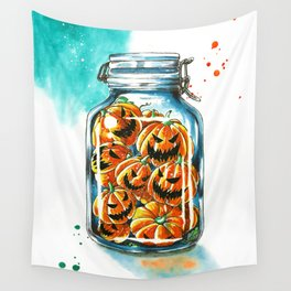 pickled pumpkins Wall Tapestry