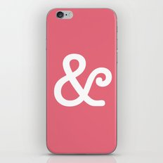 Ampersand Coral iPhone & iPod Skin