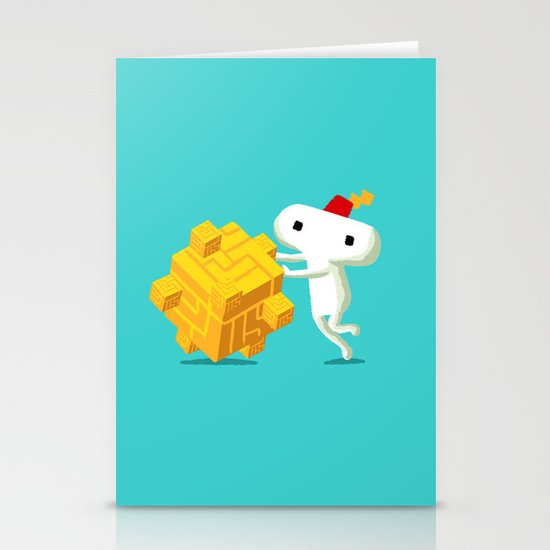 The Prince with a FEZ Stationery Cards