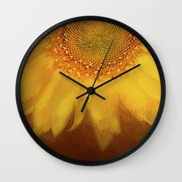 Setting Sun Wall Clock