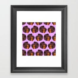 Tomi Repeat Pattern Framed Art Print