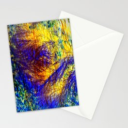 abstract kk Stationery Cards