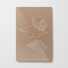 Seashells #1 Metal Print