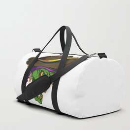 Art of a bloodthirsty pirate Duffle Bag