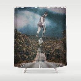 Gym guy Shower Curtain