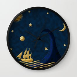 East of the moon... Wall Clock