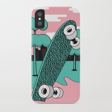 Skate or DIY Dark Roast Slim Case iPhone X