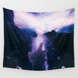 MIND AGAINST DARKNESS Wall Tapestry
