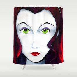 Asami Sato Shower Curtain