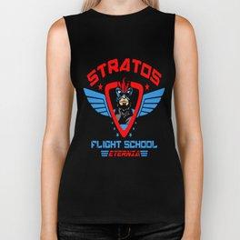 Stratos Flight School Biker Tank