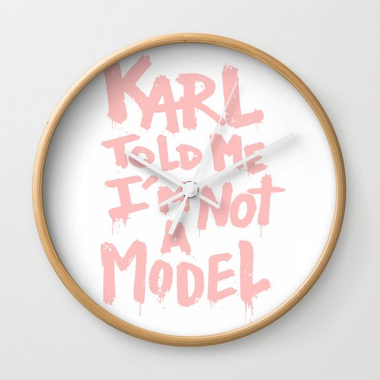 Karl told me... Wall Clock