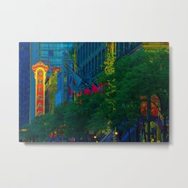 On State Street, That Great Street Metal Print
