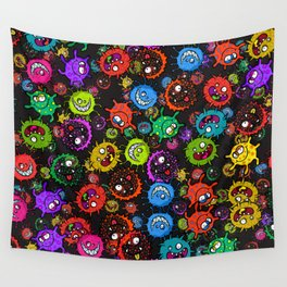 Bacterial Allergy Outbreak Wall Tapestry