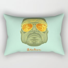 The Lebowski Series: Walter Rectangular Pillow