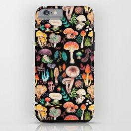 Mushroom heart iPhone Case