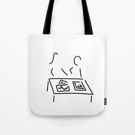 meeting analyst banker manager Tote Bag