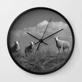 Still waiting for what is to come Wall Clock