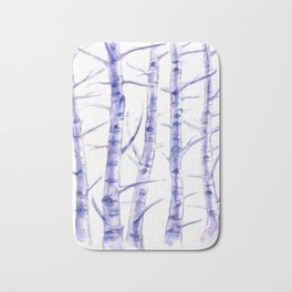 Birches I Bath Mat