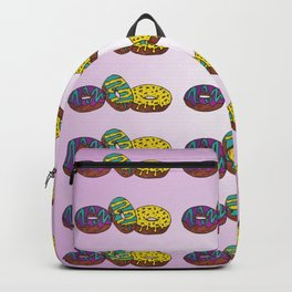 Mardi Gras Donuts Multi Backpack