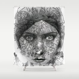 The Eyes of Alchemy Shower Curtain