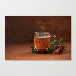 Holiday Tea Canvas Print