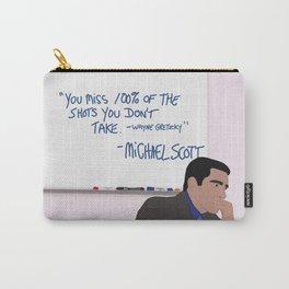 Michael Scott Wisdom Carry-All Pouch