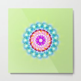 Sacred Flower Metal Print
