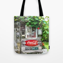 Summer Shed Tote Bag