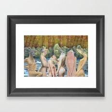 AnimalSkins Framed Art Print
