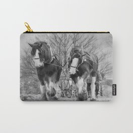 Working Horses Carry-All Pouch