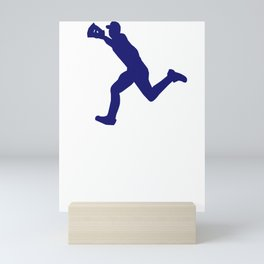 Baseball I Do My Own Stunts Baseball Gift Mini Art Print