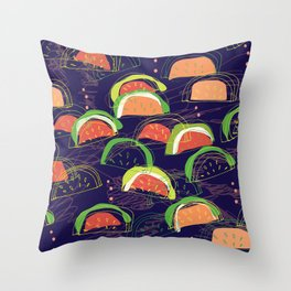 watermelons 2 Throw Pillow