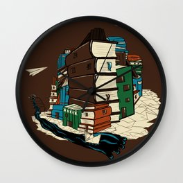 Book City Wall Clock