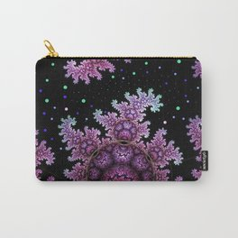 Magical fantasy patterns in purple, pink and green Carry-All Pouch