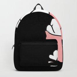 Finger Heart Twice Backpack