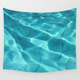 Water / Swimming Pool (Water Abstract) Wall Tapestry