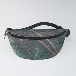 Cut down branches in the rain Fanny Pack
