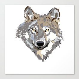 Wolf Lover Gifts Canvas Print