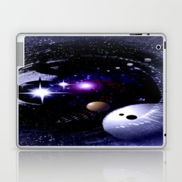 Sternenwelt abstrakt. Laptop & iPad Skin