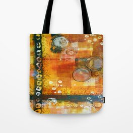 Abstract Hot and Spicy Tote Bag