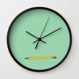 One Pencil - My Trusted Tools Series Wall Clock