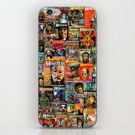 Monsters  |  Collage iPhone Skin