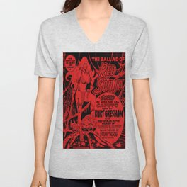 The Ballad of Red Sonja - exclusive EP front cover Unisex V-Neck